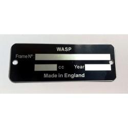 Plaque de cadre Wasp